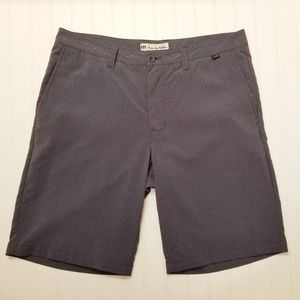Travis Mathew Gray Golf Shorts Size 36